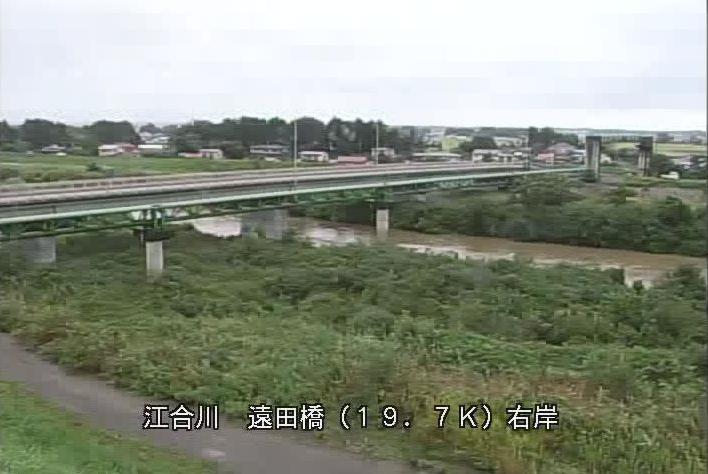 江合川遠田橋ライブカメラは、宮城県美里町北浦の遠田橋に設置された江合川が見えるライブカメラです。