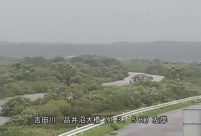 吉田川品井沼大橋ライブカメラは、宮城県松島町幡谷の品井沼大橋に設置された吉田川が見えるライブカメラです。