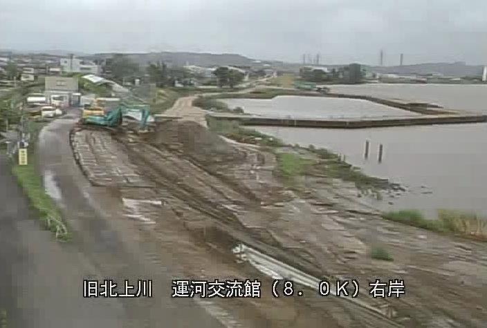 旧北上川北上川運河交流館ライブカメラは、宮城県石巻市水押の北上川運河交流館に設置された旧北上川が見えるライブカメラです。