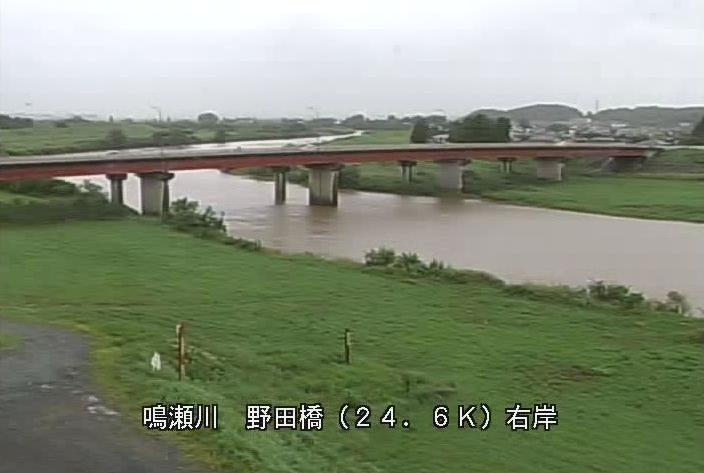 鳴瀬川野田橋ライブカメラは、宮城県大崎市松山千石の野田橋に設置された鳴瀬川が見えるライブカメラです。