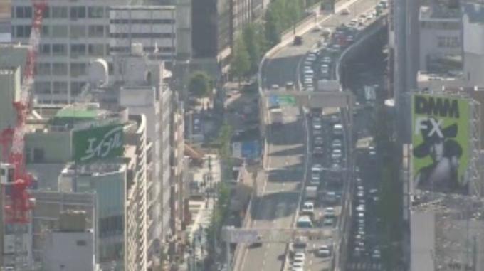 首都高速3号渋谷線ライブカメラ(東京都港区六本木)