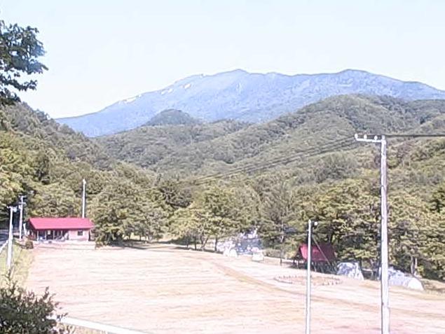 タイマグラキャンプ場早池峰山ライブカメラ(岩手県宮古市江繋)