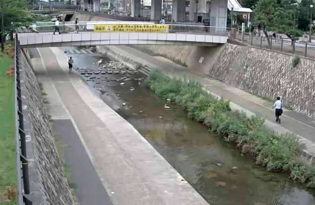 住吉川五百崎橋ライブカメラは、兵庫県神戸市東灘区の五百崎橋に設置された住吉川が見えるライブカメラです。