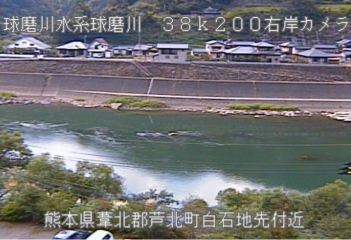 球磨川神瀬甲ライブカメラは、熊本県球磨村神瀬の神瀬甲に設置された球磨川が見えるライブカメラです。