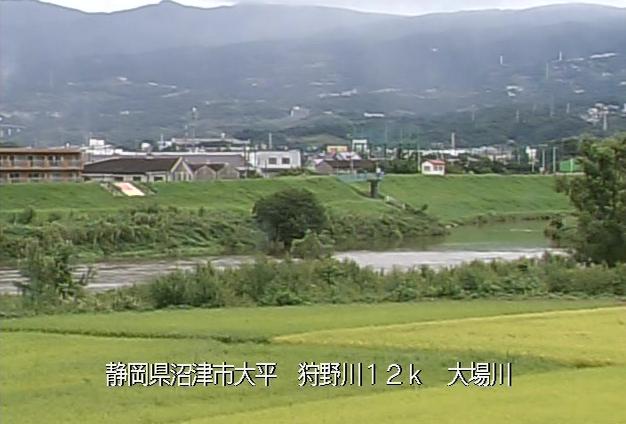 狩野川大場川ライブカメラは、静岡県沼津市大平の大場川に設置された狩野川が見えるライブカメラです。