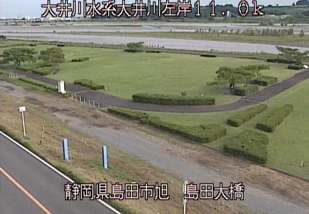 大井川島田大橋ライブカメラは、静岡県島田市旭の島田大橋に設置された大井川が見えるライブカメラです。
