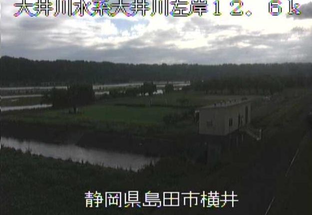 大井川横井ライブカメラは、静岡県島田市の横井に設置された大井川が見えるライブカメラです。