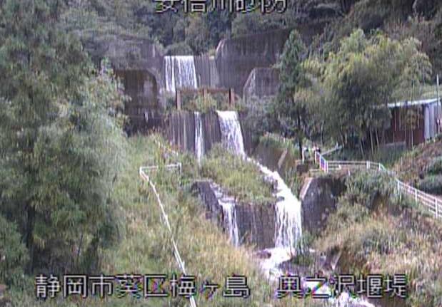 安倍川砂防奥之沢堰堤ライブカメラは、静岡県静岡市葵区の奥之沢堰堤に設置された安倍川砂防が見えるライブカメラです。