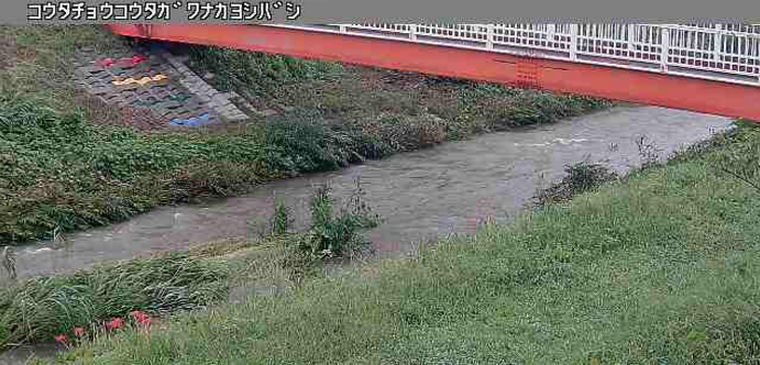 広田川なかよし橋ライブカメラは、愛知県幸田町芦谷のなかよし橋に設置された広田川が見えるライブカメラです。