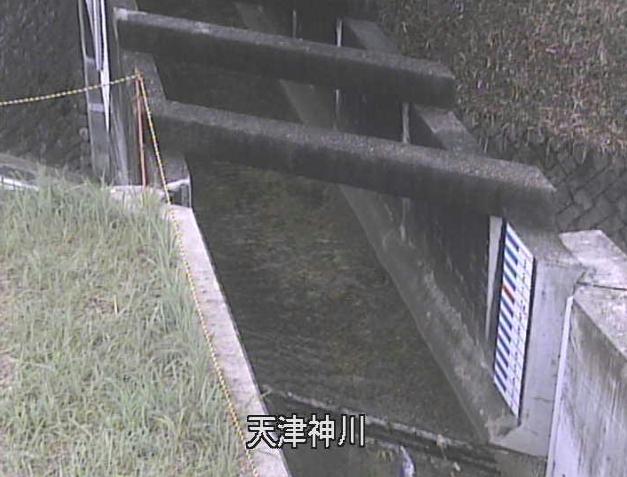 天津神川水位観測所ライブカメラは、京都府京田辺市田辺の天津神川水位観測所に設置された天津神川が見えるライブカメラです。