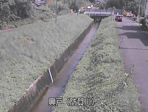 防賀川興戸ライブカメラは、京都府京田辺市興戸南鉾立の興戸に設置された防賀川が見えるライブカメラです。