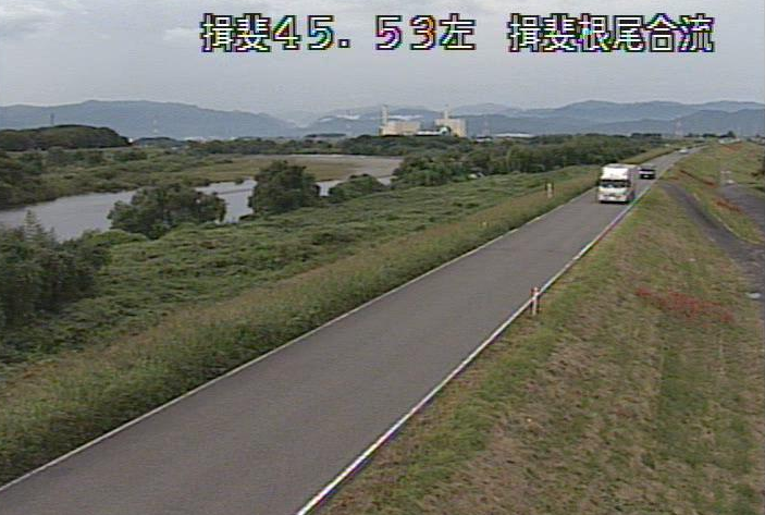 根尾川揖斐川合流ライブカメラは、岐阜県瑞穂市大月の揖斐川合流に設置された根尾川が見えるライブカメラです。