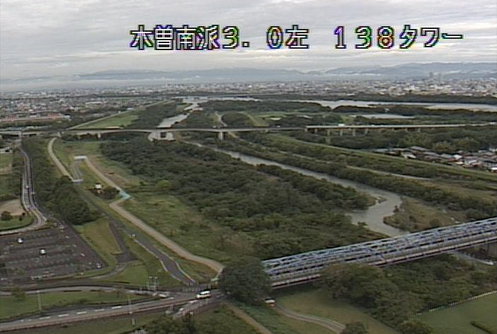南派川138タワーライブカメラは、愛知県一宮市光明寺の国営木曽三川公園138タワーパークに設置された南派川が見えるライブカメラです。