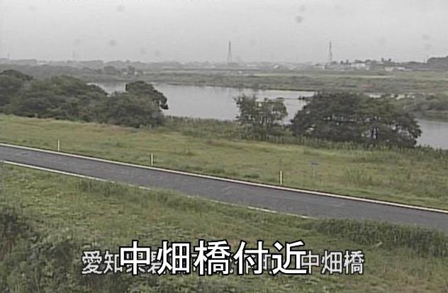 矢作川中畑橋ライブカメラは、愛知県碧南市流作町の中畑橋に設置された矢作川が見えるライブカメラです。