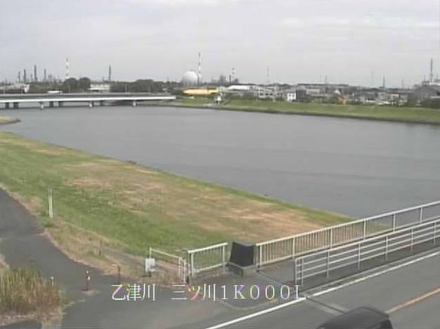 乙津川三ツ川ライブカメラは、大分県大分市三川下の三ツ川に設置された乙津川が見えるライブカメラです。