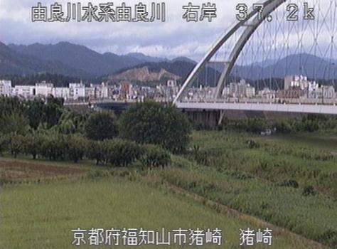 由良川猪崎ライブカメラは、京都府福知山市の猪崎に設置された由良川が見えるライブカメラです。