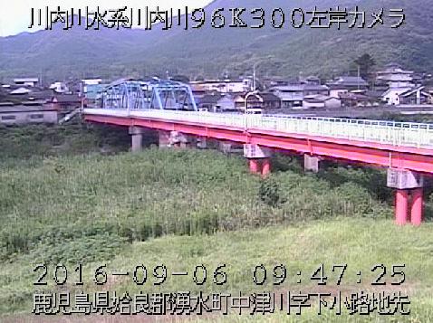 川内川吉松橋ライブカメラは、鹿児島県湧水町中津川の吉松橋に設置された川内川が見えるライブカメラです。