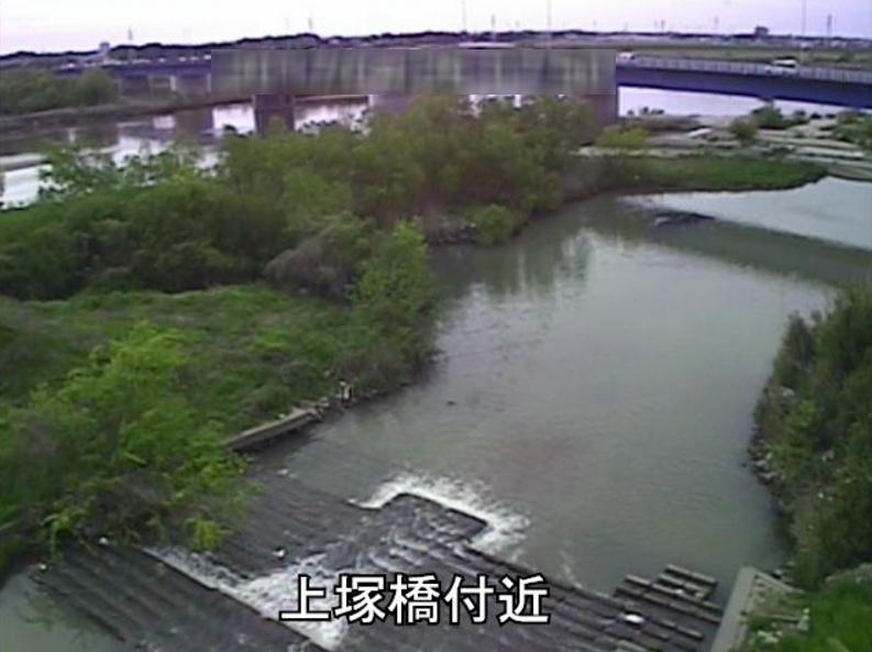 矢作川上塚橋ライブカメラ(愛知県碧南市鷲塚町)