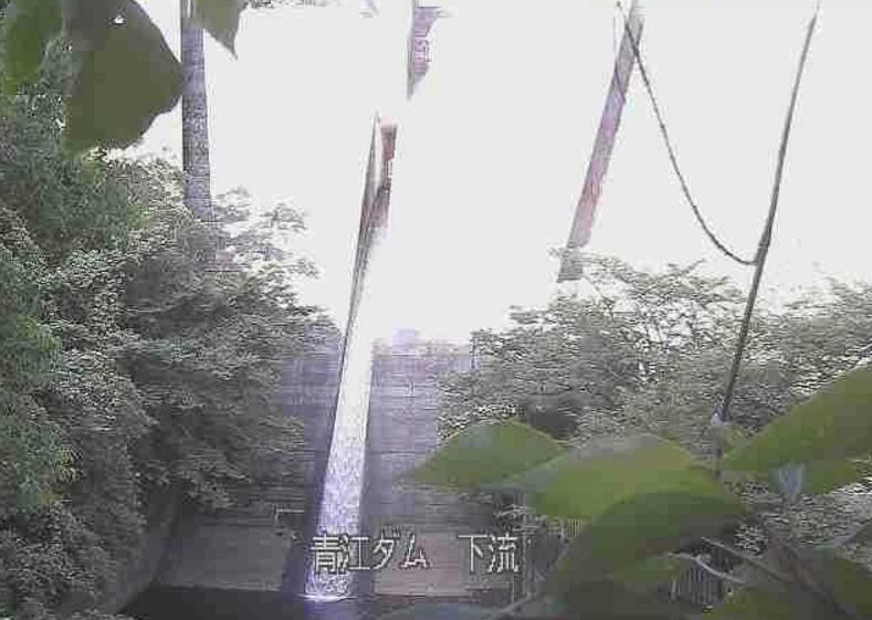 青江川青江ダム下流ライブカメラ(大分県津久見市上青江)