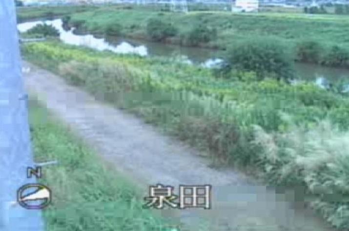 境川泉田ライブカメラは、愛知県刈谷市泉田町の泉田に設置された境川が見えるライブカメラです。