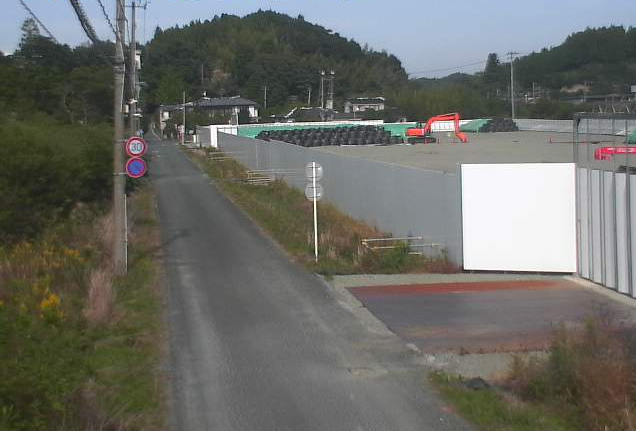 前田反町付近ライブカメラは、福島県双葉町の前田反町付近に設置された双葉町道が見えるライブカメラです。
