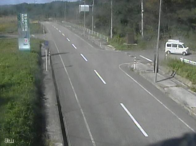 石川県道251号志賀鹿西線後山ライブカメラは、石川県中能登町後山の後山に設置された石川県道251号志賀鹿西線が見えるライブカメラです。