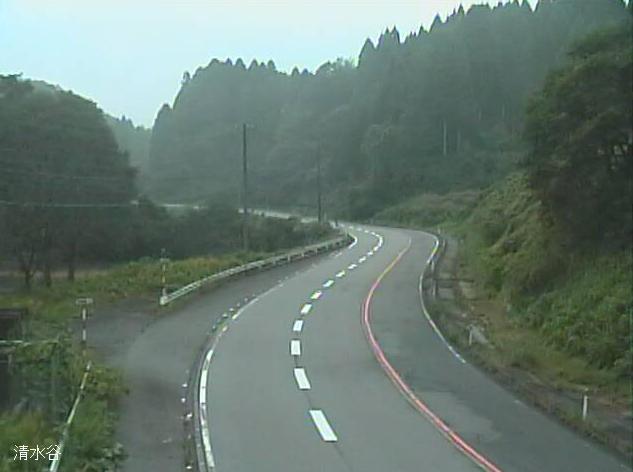 国道304号清水谷ライブカメラは、石川県金沢市清水谷町の清水谷に設置された国道304号が見えるライブカメラです。