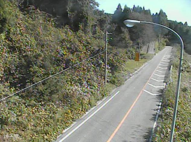 国道415号神子原ライブカメラは、石川県羽咋市神子原町の神子原に設置された国道415号が見えるライブカメラです。