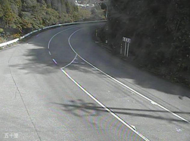 石川県道26号珠洲穴水線五十里ライブカメラは、石川県能登町五十里の五十里に設置された石川県道26号珠洲穴水線が見えるライブカメラです。