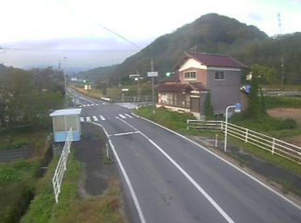 鳥取県道46号日野溝口線二部ライブカメラ(鳥取県伯耆町二部)