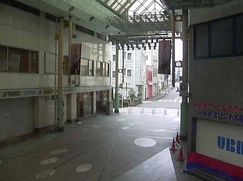 オリオン通り商店街第2ライブカメラ(栃木県宇都宮市曲師町)