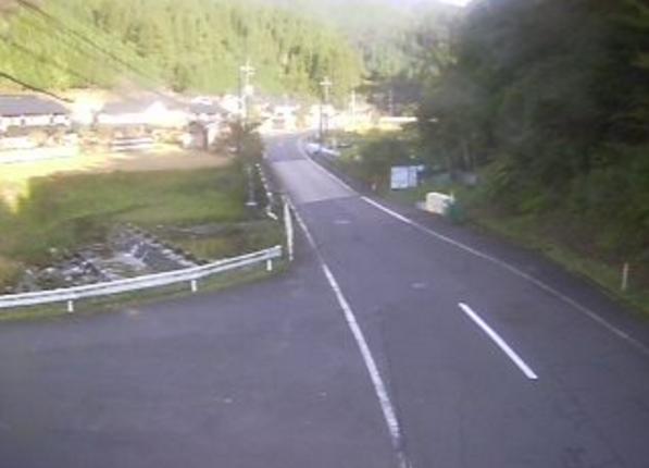 鳥取県道103号若桜湯村温泉線赤松ライブカメラ(鳥取県若桜町赤松)