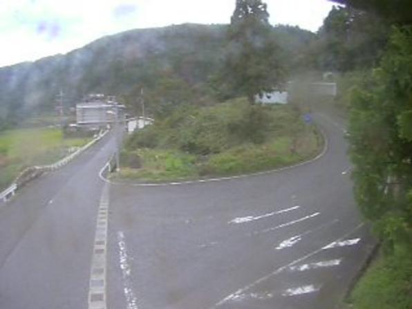 鳥取県道154号上地中河原線国府町上地ライブカメラ(鳥取県鳥取市国府町)