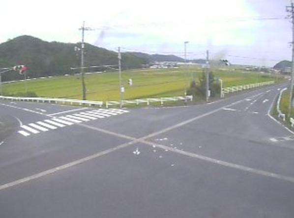 鳥取県道182号宝木停車場上光線気高町上光ライブカメラ(鳥取県鳥取市気高町)