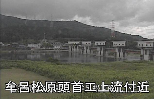豊川牟呂松原頭首工上流付近ライブカメラは、愛知県新城市野田の牟呂松原頭首工上流付近に設置された豊川が見えるライブカメラです。