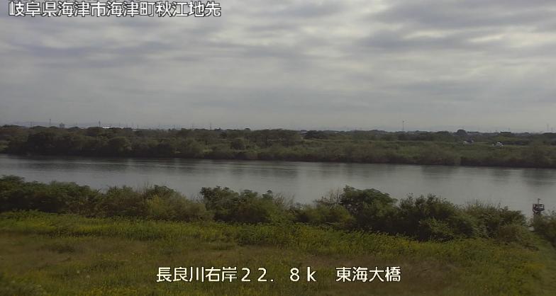 長良川東海大橋ライブカメラは、岐阜県海津市海津町の東海大橋に設置された長良川が見えるライブカメラです。