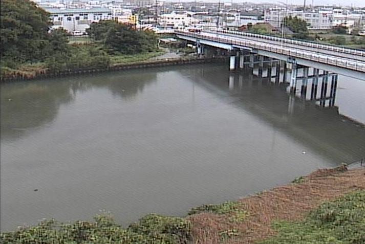 新川萱津橋ライブカメラは、愛知県あま市下萱津の萱津橋に設置された新川が見えるライブカメラです。