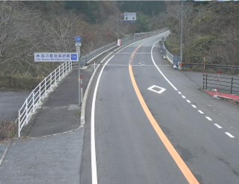 国道314号坂根ライブカメラ(島根県奥出雲町八川)