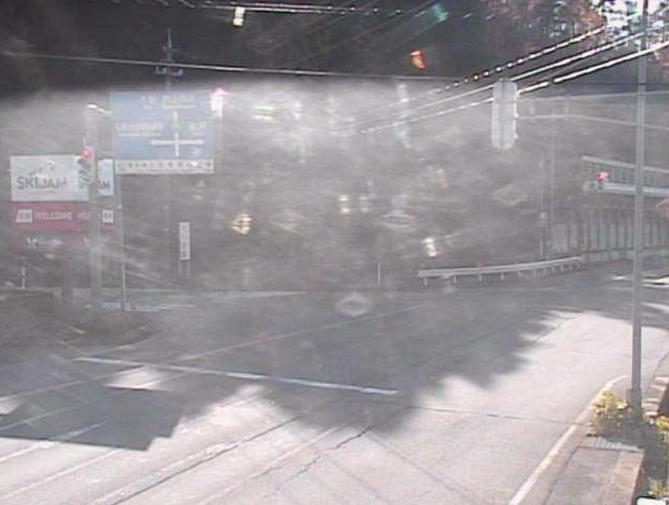 国道157号村岡町暮見ライブカメラ(福井県勝山市村岡町)