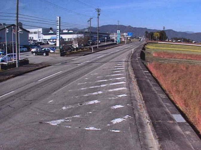 国道157号中据ライブカメラ(福井県大野市中据)