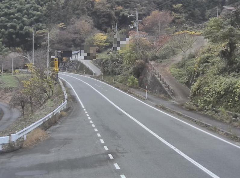 国道375号作木ライブカメラ(広島県三次市作木町)