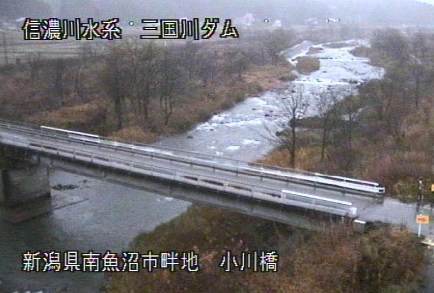 三国川ダム小川橋ライブカメラ(新潟県南魚沼市畔池)