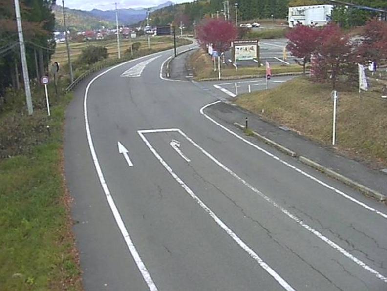 国道400号道の駅からむし織の里しょうわ第1ライブカメラは、福島県昭和村佐倉の道の駅からむし織の里しょうわに設置された国道400号が見えるライブカメラです。
