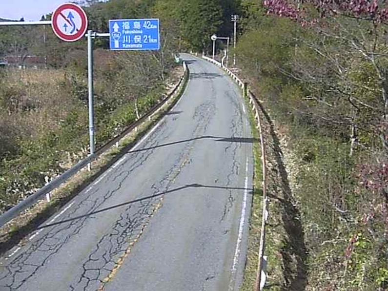 国道114号津島第1ライブカメラは、福島県浪江町津島の津島に設置された国道114号(富岡街道)が見えるライブカメラです。