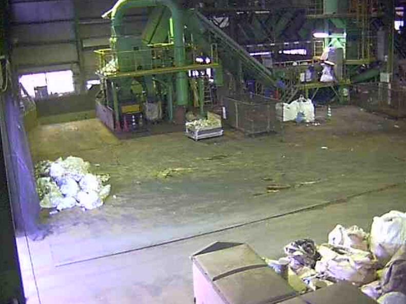 平木工業ペットボトルビン缶古紙類圧縮梱包ライブカメラ(長崎県長崎市三京町)