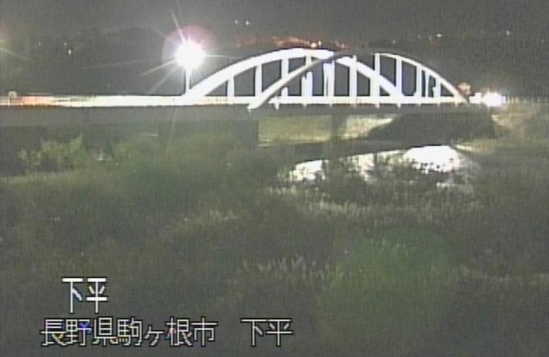 CEK天竜川ライブカメラ(長野県駒ヶ根市下平)