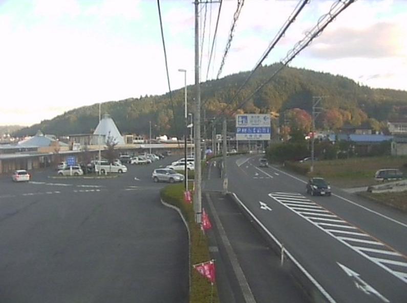国道118号道の駅はなわライブカメラ(福島県塙町塙桜木町)