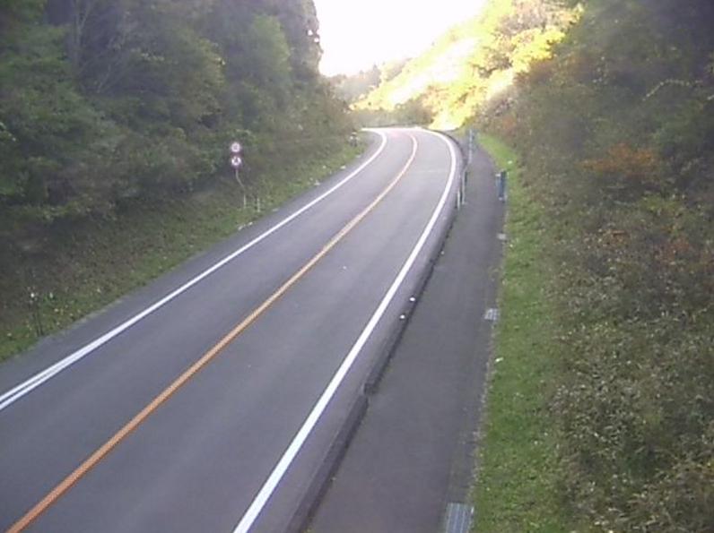 国道349号大ぬかり第1ライブカメラ(福島県矢祭町大ぬかり)