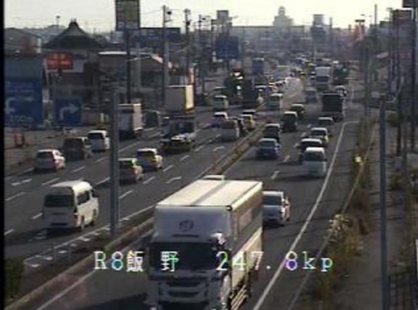国道8号飯野ライブカメラは、富山県富山市飯野の飯野に設置された国道8号(富山高岡バイパス)が見えるライブカメラです。