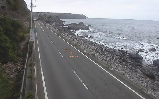 国道135号大川ライブカメラ(静岡県東伊豆町大川)